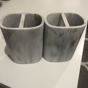 Other - Marble Toothbrush holders